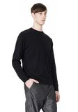 T by ALEXANDER WANG MERINO BLEND KNIT CREWNECK PULLOVER Crewneck Adult 8_n_a