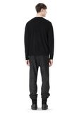 T by ALEXANDER WANG MERINO BLEND KNIT CREWNECK PULLOVER Crewneck Adult 8_n_r