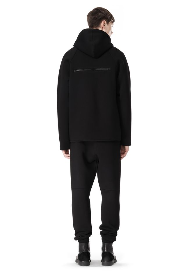 T by ALEXANDER WANG SCUBA DOUBLE KNIT HOODED SWEATSHIIRT HOODIE Adult 12_n_r
