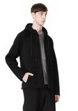 T by ALEXANDER WANG SCUBA DOUBLE KNIT HOODED SWEATSHIIRT HOODIE Adult 8_n_a