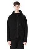 T by ALEXANDER WANG SCUBA DOUBLE KNIT HOODED SWEATSHIIRT HOODIE Adult 8_n_e