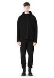 T by ALEXANDER WANG SCUBA DOUBLE KNIT HOODED SWEATSHIIRT HOODIE Adult 8_n_f
