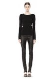 T by ALEXANDER WANG CRISS CROSS LONG SLEEVE TOP TOP Adult 8_n_f