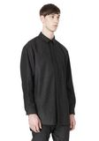 ALEXANDER WANG OVERSIZED DOUBLE SHOULDER  SHIRT WITH SLIT POCKET SHIRT Adult 8_n_a