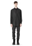 ALEXANDER WANG OVERSIZED DOUBLE SHOULDER  SHIRT WITH SLIT POCKET SHIRT Adult 8_n_f