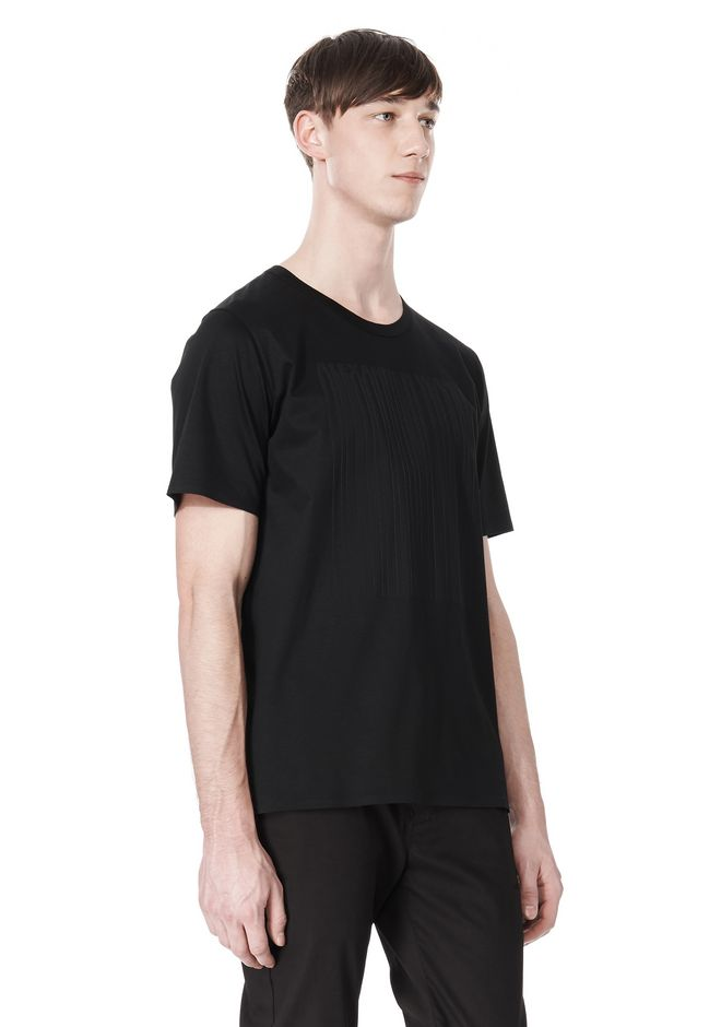 ALEXANDER WANG LASER CUT LOGO BONDED T SHIRT Short sleeve t-shirt Adult 12_n_a