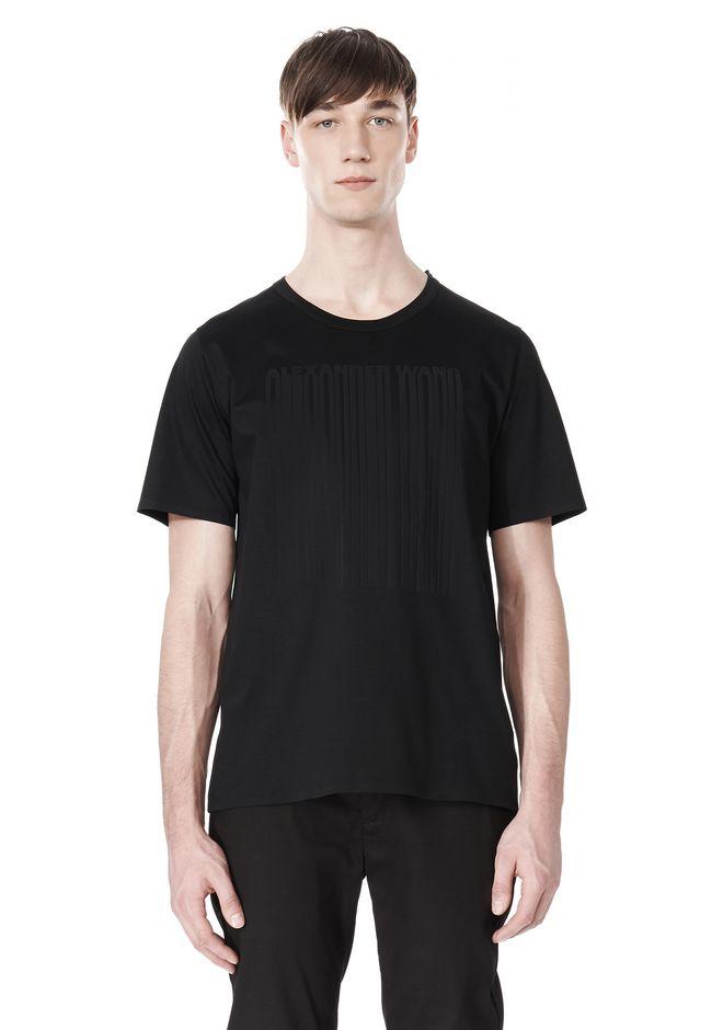 ALEXANDER WANG LASER CUT LOGO BONDED T SHIRT Short sleeve t-shirt Adult 12_n_e