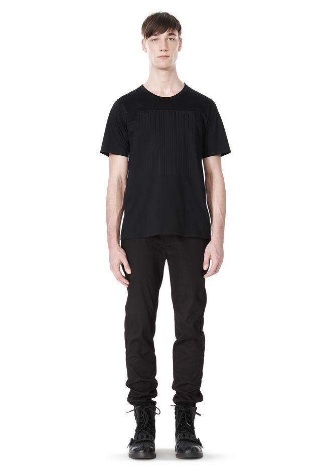 ALEXANDER WANG LASER CUT LOGO BONDED T SHIRT Short sleeve t-shirt Adult 12_n_f