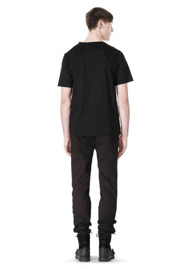 ALEXANDER WANG LASER CUT LOGO BONDED T SHIRT Short sleeve t-shirt Adult 12_n_r