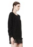 ALEXANDER WANG CASHMERE DONEGAL PULLOVER Crewneck Adult 8_n_a