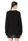 ALEXANDER WANG CASHMERE DONEGAL PULLOVER Crewneck Adult 8_n_d