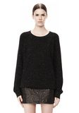 ALEXANDER WANG CASHMERE DONEGAL PULLOVER Crewneck Adult 8_n_e