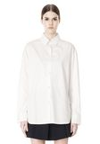 ALEXANDER WANG OVERSIZED DRESS SHIRT TOP  8_n_e