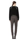 T by ALEXANDER WANG MERINO BLEND PULLOVER WITH RIB DETAIL TOP Adult 8_n_r