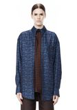 ALEXANDER WANG DOUBLE LAYER OVERSIZED MEN'S SHIRT TOP Adult 8_n_e