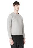 T by ALEXANDER WANG CREWNECK NEOPRENE SWEATSHIRT TOP Adult 8_n_a