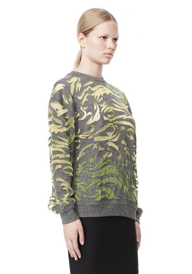 ALEXANDER WANG PAISLEY PULLOVER TOP Adult 12_n_a