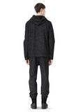T by ALEXANDER WANG BOUCLE FLEECE HOODED JACKET TOP Adult 8_n_r