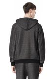 T by ALEXANDER WANG COTTON TWILL KNIT FRENCH TERRY HOODIE TOP Adult 8_n_d