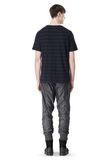 T by ALEXANDER WANG LINEN COTTON  STRIPE CREWNECK SHORT SLEEVE TEE Short sleeve t-shirt Adult 8_n_r