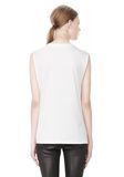 T by ALEXANDER WANG COTTON JERSEY WELDED MUSCLE TEE  TOP Adult 8_n_d
