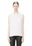 T by ALEXANDER WANG COTTON JERSEY WELDED MUSCLE TEE  TOP Adult 8_n_e