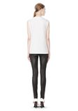 T by ALEXANDER WANG COTTON JERSEY WELDED MUSCLE TEE  TOP Adult 8_n_r