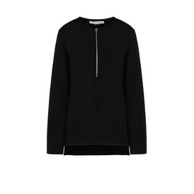 STELLA McCARTNEY Long Sleeved D Black Arlesa Top f