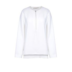 STELLA McCARTNEY Long Sleeved D White Arlesa Top f