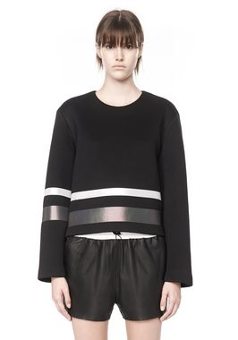 SCUBA SWEATSHIRT WITH REFLECTIVE STRIPES