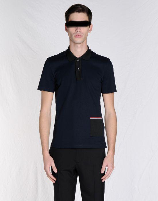 012b3deb74 Maison Margiela Slim Fit Polo Shirt With Contrasting Pocket Men