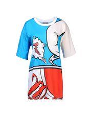 Kurzärmliges T-Shirt Damen MOSCHINO