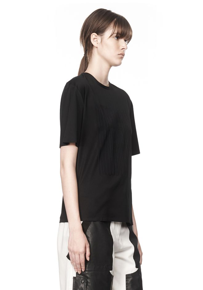Explore the womens Alexander Wang t by Alexander Wang collection at Harrods. Shop online & earn reward points on designer fashion, luxury gifts, food and accessories. T By Alexander Wang Logo Stripe Track Sweatshirt. USD Excludes taxes. Black T By Alexander Wang Metallic Top. USD Excludes taxes. Black more. T By.