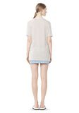 T by ALEXANDER WANG CLASSIC TEE WITH POCKET TOP Adult 8_n_r