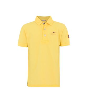 NAPAPIJRI K ELBAS JUNIOR KID SHORT SLEEVE POLO,YELLOW