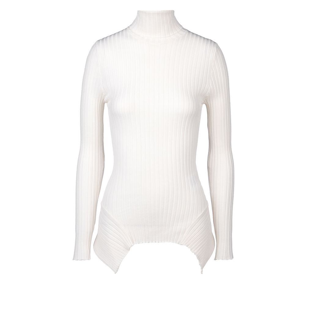 Refined Ribs Turtle Neck Jumper  - STELLA MCCARTNEY