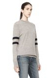 T by ALEXANDER WANG RUGBY KNIT PULLOVER  TOP Adult 8_n_a