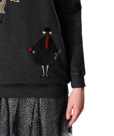 REDValentino JR0MF01I21K 081 Sweatshirt Woman a