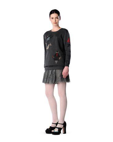 REDValentino JR0MF01I21K 081 Sweatshirt Woman r
