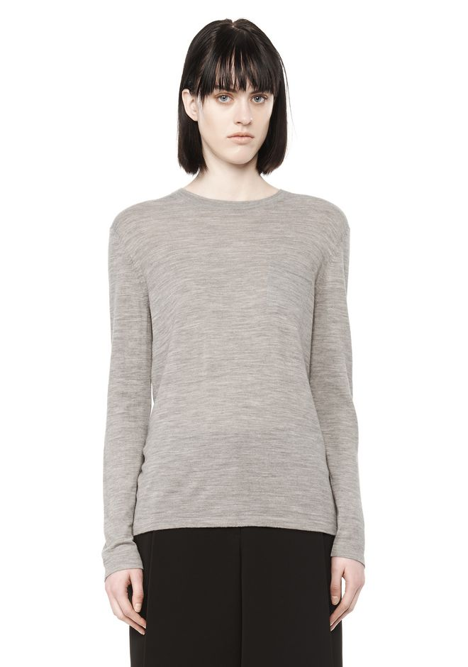 ALEXANDER WANG knitwear-ready-to-wear-woman KNIT CREWNECK PULLOVER