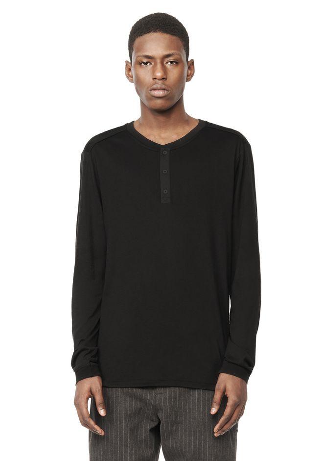 Long sleeve henley top long sleeve t shirt alexander for Best henley long sleeve shirts