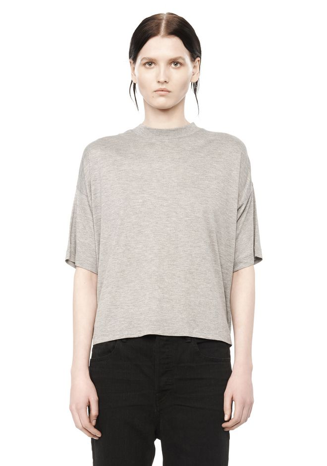 T by ALEXANDER WANG t-by-alexander-wang-classics CLASSIC SHORT SLEEVE  TEE