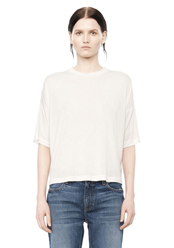 T by ALEXANDER WANG Short sleeve t-shirts CLASSIC SHORT SLEEVE  TEE