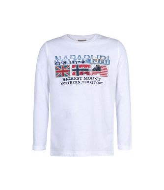 NAPAPIJRI K SARIS JUNIOR KID LONG SLEEVE T-SHIRT