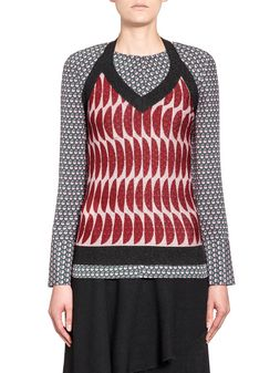 Marni Top in nylon acetate and polyester Woman
