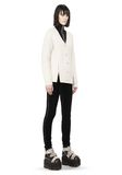 ALEXANDER WANG CABLE KNIT V-NECK CARDIGAN  TOP Adult 8_n_f