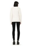 ALEXANDER WANG CABLE KNIT V-NECK CARDIGAN  TOP Adult 8_n_r