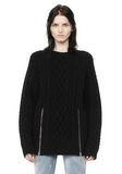 ALEXANDER WANG CABLE KNIT PULLOVER TOP Adult 8_n_e
