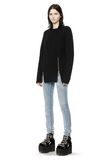 ALEXANDER WANG CABLE KNIT PULLOVER TOP Adult 8_n_f