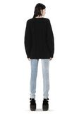 ALEXANDER WANG CABLE KNIT PULLOVER TOP Adult 8_n_r